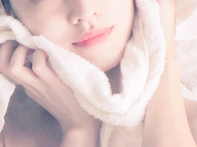 写真:女性タオル