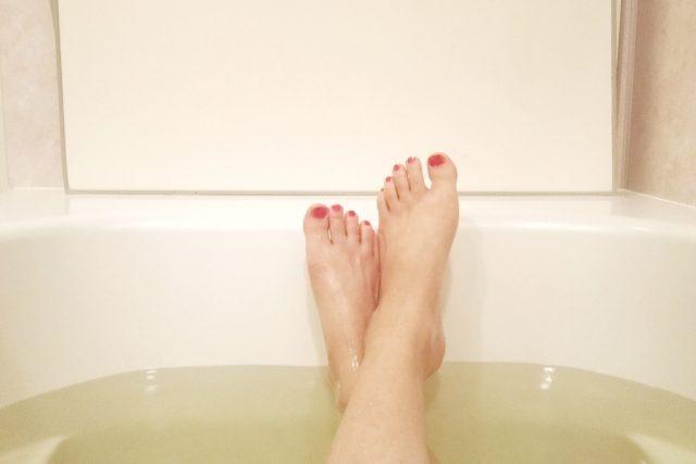 写真:入浴